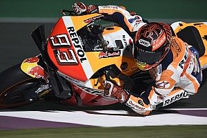 FP2 MotoGP Qatar: Marquez rekor lap, Rossi tercecer
