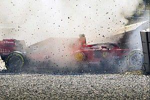 Феттель затруднился назвать причины аварии на тестах в Барселоне