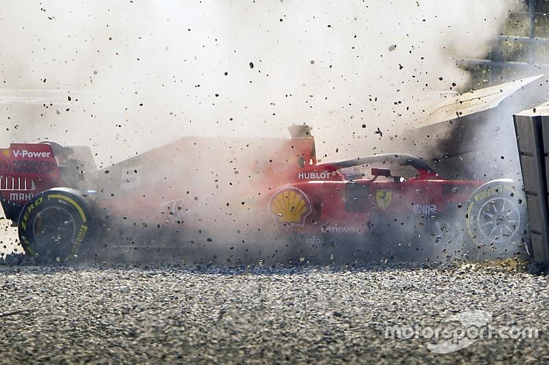 Röportaj: Sebastian Vettel kaza ve testler hakkında konuştu