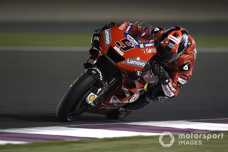 "Petrucci aiming to ""surprise everybody"" in Qatar"