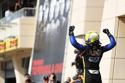 Ghiotto se luce en la segunda carrera de la F2 en Bahrein