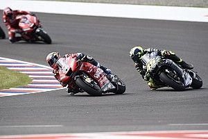 "Dovizioso was ""scared to crash"" in last-lap Rossi fight"