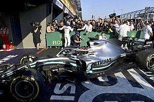 ハミルトン車のフロアを激写! ダメージが発生したのは4周目? F1開幕戦オーストラリアGP