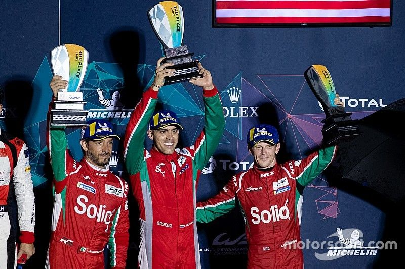 Maldonado et Davidson rempilent en WEC la saison prochaine