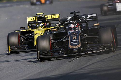 """Grosjean: """"É fácil seguir outro carro, mas muito difícil ultrapassar"""""""