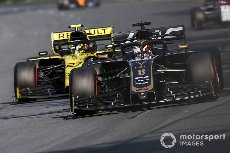 "Grosjean: F1 cars now ""easy to follow"" but not overtake"