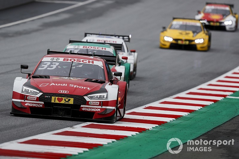Red Bull Ring DTM: Rast takes record fourth straight win