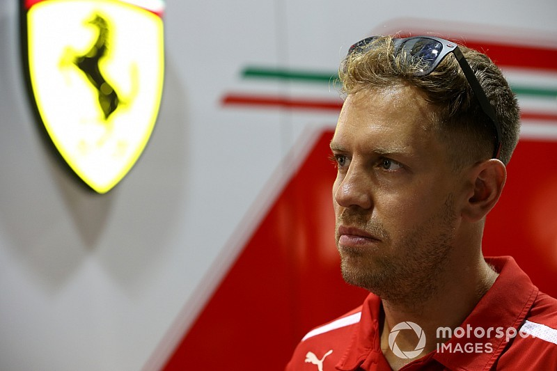 "Vettel says he is his ""biggest enemy"" in F1 title fight"