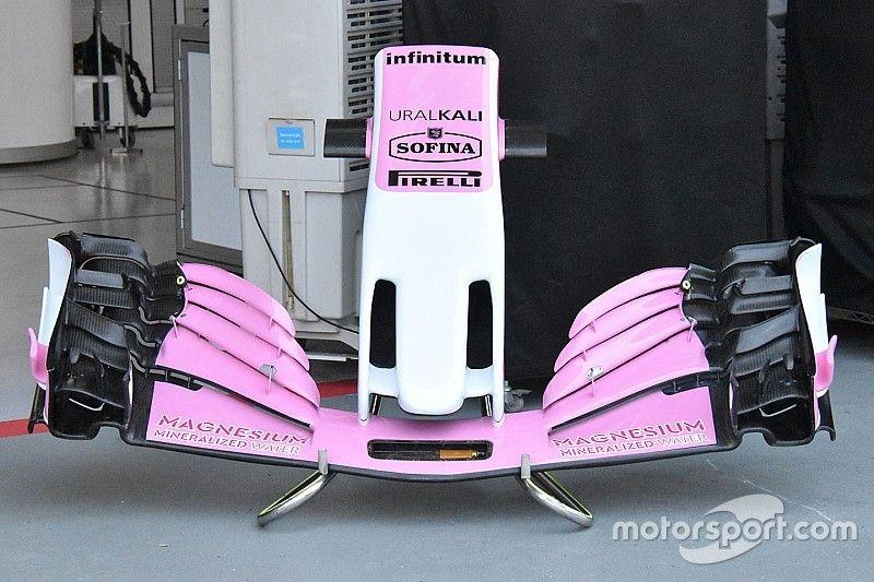Force India: con i soldi di Stroll arrivano le novità tecniche per la VJM11 a Singapore
