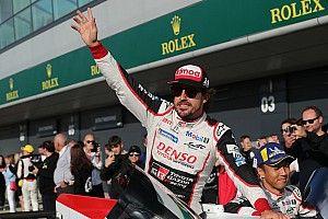 """Alonso: """"El otro Toyota parecía que nos estaba matando, pero al final tres de tres"""""""