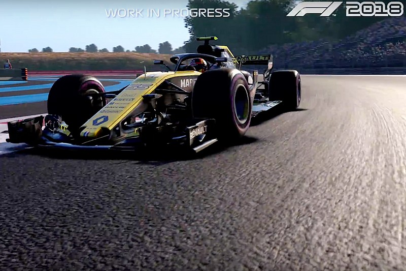 Vídeo: Sainz, Gasly, Ocon y Grosjean descubren Paul Ricard con el videojuego 'F1 2018''