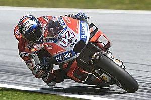 Austria MotoGP: Dovizioso tops warm-up from crashing Marquez