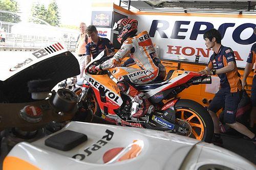 Red Bull Ring, Libere 2: sotto al diluvio brilla Marquez e stupisce Redding, ma anche le Ducati sono lì