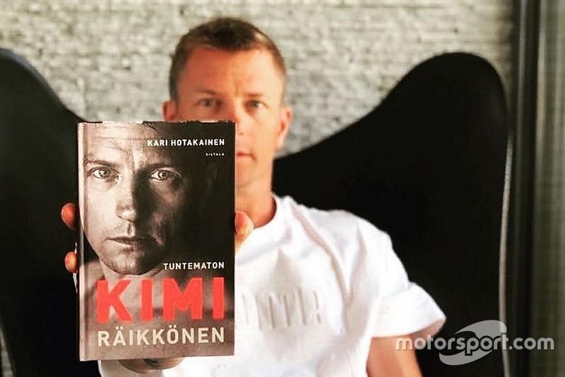 Kimi Raikkonen presentará un libro autobiográfico