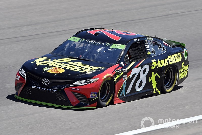 Martin Truex Jr. takes Stage 1 win at Las Vegas