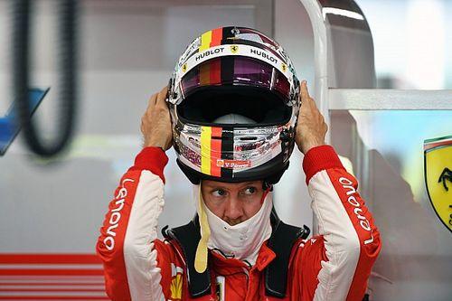 GALERIA: Vettel e a arte de burlar a censura a pinturas de capacete diferentes