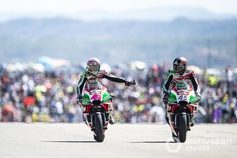 La Aprilia lleva a Espargaró a cerrar su peor año desde que está en MotoGP
