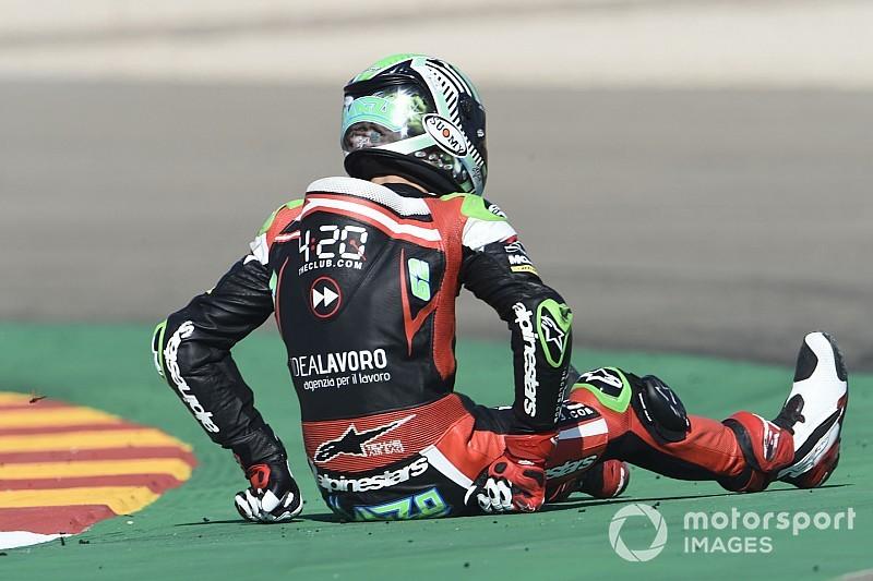 Stefano Manzi salta il GP della Malesia, al suo posto c'è Sucipto