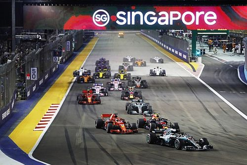 Ergebnis: Formel 1 Singapur 2018, Rennen