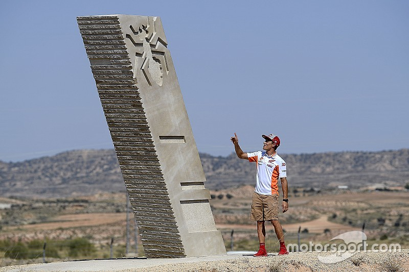Un virage d'Aragón porte désormais le nom de Marc Márquez