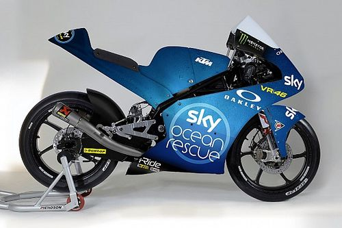 "Lo Sky Racing Team VR46 sfoggia la livrea ""Sky Ocean Rescue"" per le gare di Misano"