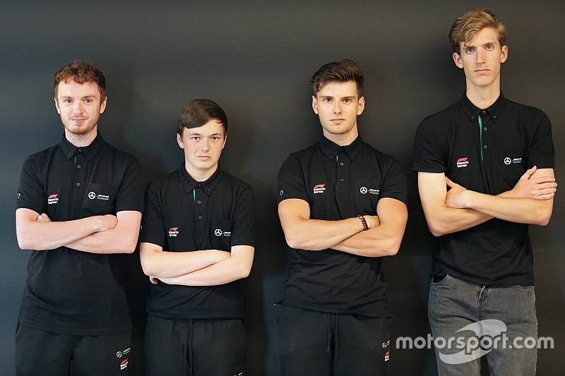 Mercedes launches eSports team, signs champion Leigh