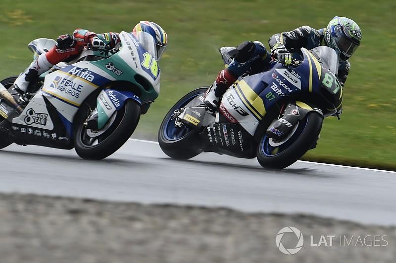 Moto2 Red Bull Ring: Gardner aan kop, Oliveira komt met schrik vrij bij crash