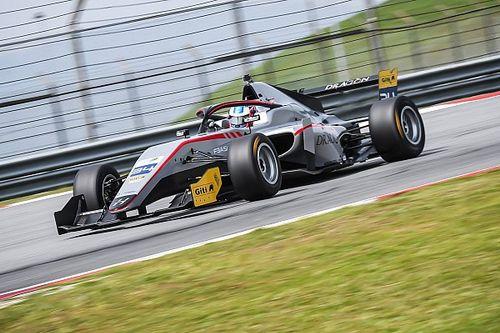 Malgré 100% de victoires, Hughes a perdu le titre de F3 Asie