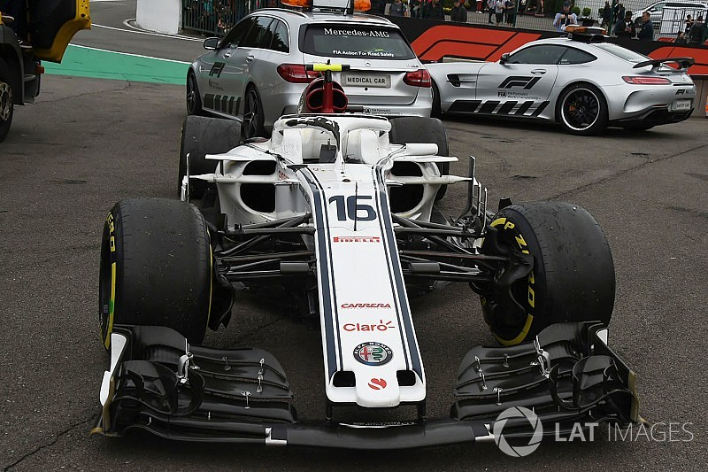 Leclerc szerencsésnek érzi magát, látva, mi történt a Halóval