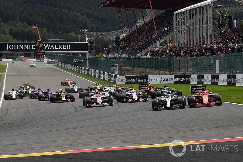 GALERIA: Confira as melhores imagens do GP da Bélgica