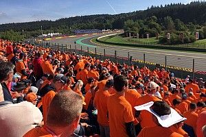 F1 fans soak up orange atmosphere with Motorsport Experiences