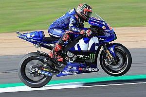 FP1 MotoGP Inggris: Vinales tercepat, Yamaha 1-2