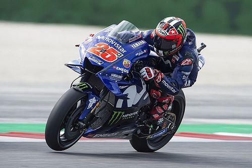 Misano, Libere 4: zampata Yamaha con Vinales davanti alle due Ducati