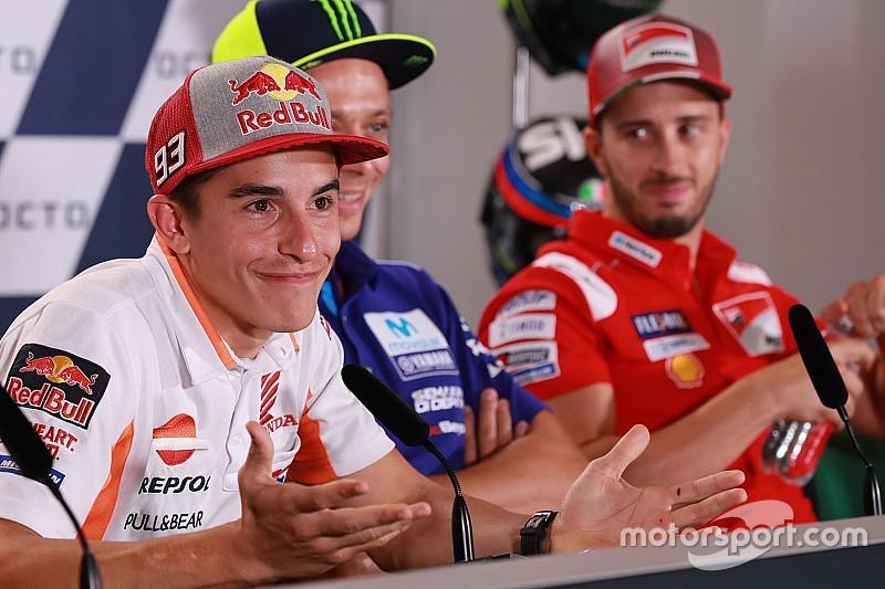 """""""Ainda somos os mesmos"""", diz Márquez após atitude de Rossi"""