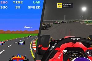 Múltból a jelenbe – videón az F1-es játékok fejlődése