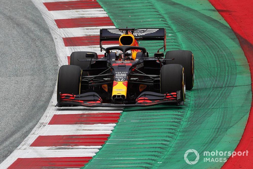 Verstappen a cassé son aileron avant lors de son meilleur tour