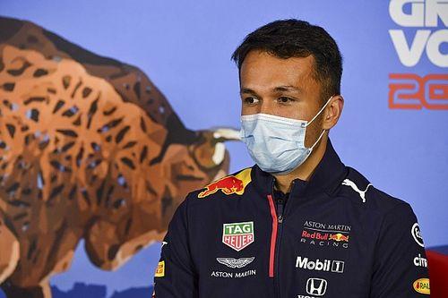 "Albon ""Piloto del Día"" del GP de Austria de F1"