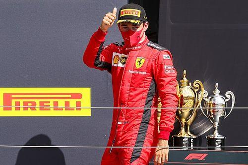 """Leclerc l'opportuniste sur le podium grâce à """"deux tours de folie"""""""