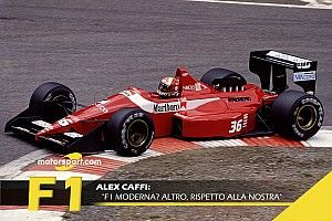 """Caffi: """"F1 moderna? Altro sport rispetto alla nostra!"""""""