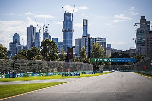 Australian GP: Best images as Melbourne gears up