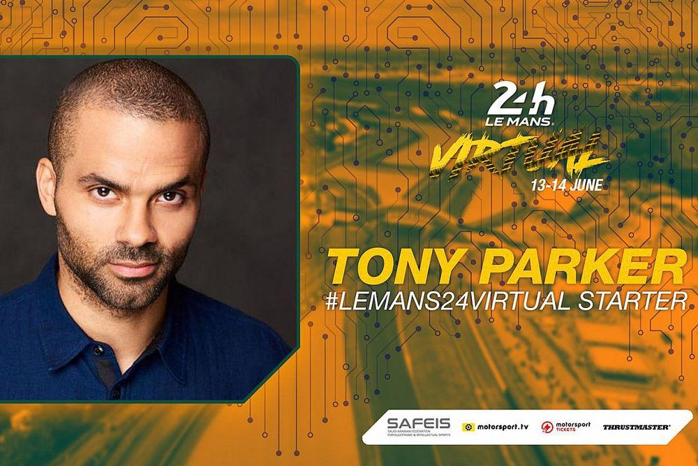 Tony Parker named starter for 24 Hours of Le Mans Virtual