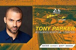 La stella NBA Tony Parker darà il via alla Virtual 24h di Le Mans