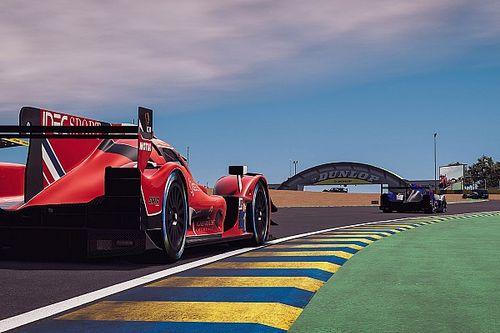 Un argentino de 17 años, el piloto pro más rápido de Le Mans Virtual