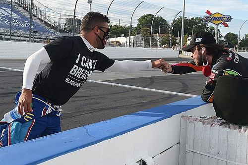 "Blaney, Logano ""proud"" of Bubba Wallace's NASCAR activism"