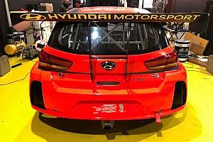 Guastamacchia nel TCR Italy con la Hyundai del Team Aggressive