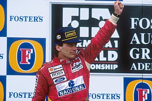 Gallery: Best of Senna's podium celebrations