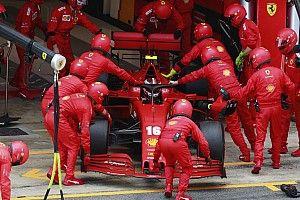 フェラーリ、スペインGPで発生したトラブル特定も……ルクレールはベルギーGP苦戦を予想