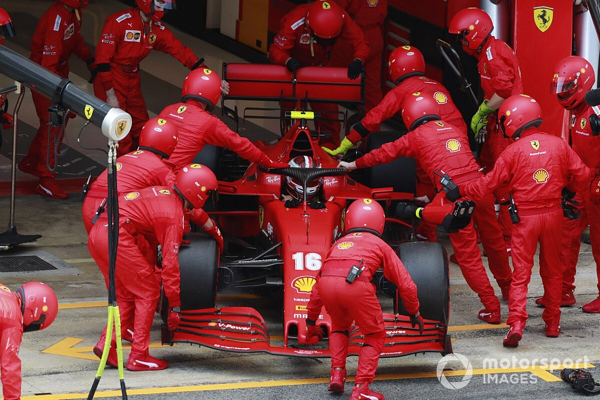 Ferrari identifies issue that caused Leclerc's DNF in Spain