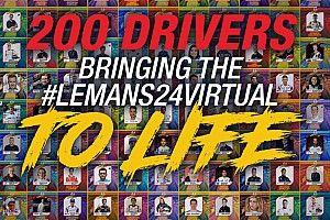 Asi será la parrilla de lujo de las 24 Horas de Le Mans virtuales