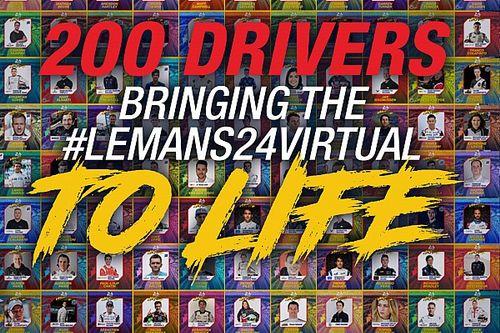 24h Le Mans virtuell: Alle 200 Fahrer in der Übersicht